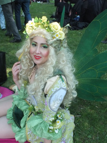 maeshelle west-davies for Leipglo at WGT Victorian Picnic, 2016