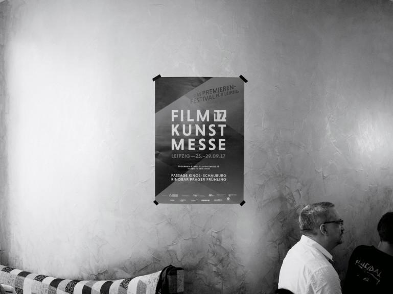 Filmkunstmesse poster. (Photo: Sam Jozeps)