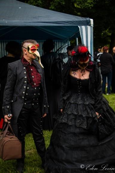 WGT 2018 Victorian Picnic in Clara Zetkin Park.