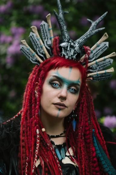 WGT 2018 Victorian Picnic in Clara Zetkin Park. Photo © Erik Braga