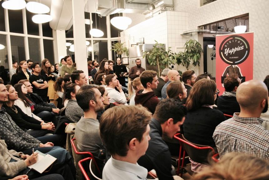 DY Amsterdam event. Photo © Digital Yuppies