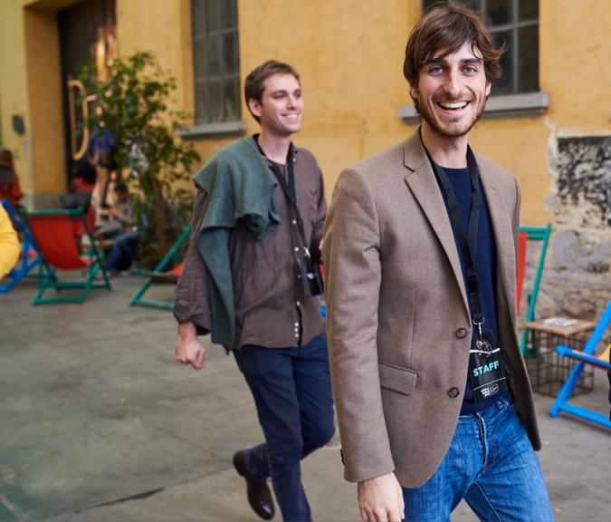 Giorgio Gioacchini and Tommaso Politano, co-founders of Digital Yuppies International. Photo © Digital Yuppies