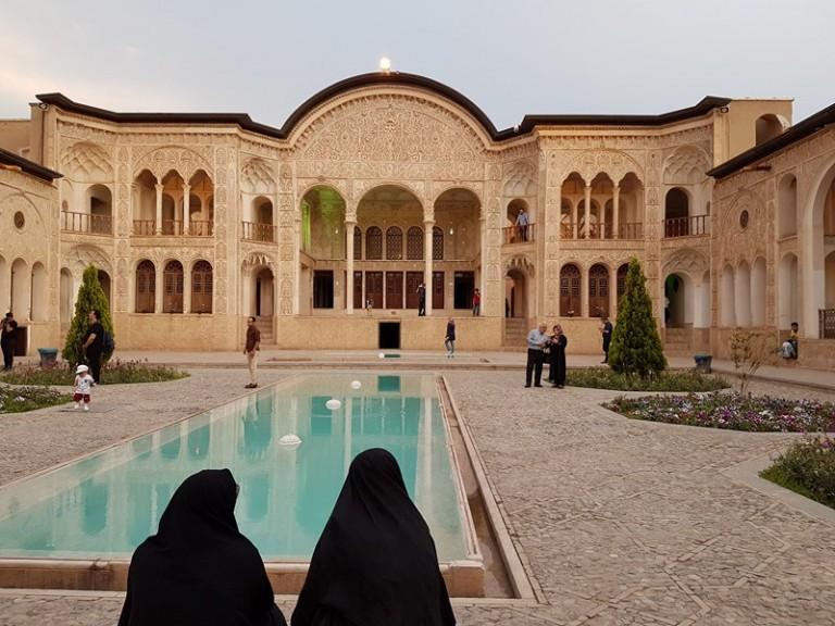 Tabatabaei House in Kashan. Photo © Rébecca Bonnaire