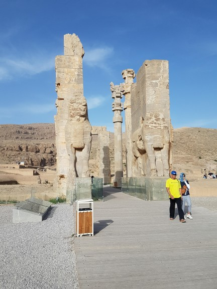 The Gate of All Nations in Persepolis. Photo © Rébecca Bonnaire