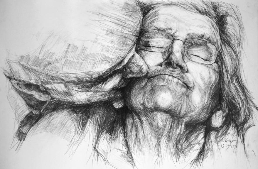 Bleistift Ellen Steiger